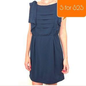 Line&Dot Dark blue casual mini dress